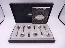 6 Wilkens Mokkalöffel Silber 800 punziert Jubiläums Set in Box