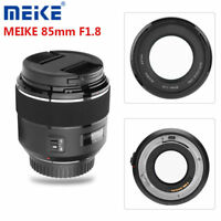 MEIKE 85mm F1.8 Auto Focus Medium Telephoto Full Frame Lens for Canon EF Mount