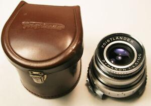 Vintage Voigtlander  Dynaron 100mm f4.5  Lens Super  Clean