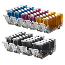10 PGI-220 220 CLI-221 Black Color Printer Ink Cartridge for Canon PIXMA iP4700