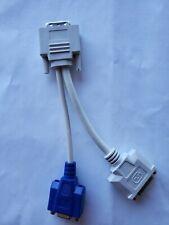 WYSE DVI Splitter Y Cable to DVI-D & VGA for VXOL/LE 920302-02L
