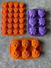 Wilton Silicone Halloween Molds Set Of 3