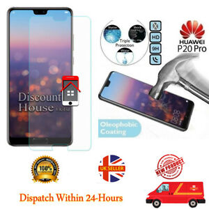 Genuine Tempered Glass Screen Protector For Huawei P20 Pro