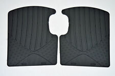 Genuine Official Vauxhall CORSA  REAR RUBBER FLOOR MATS 13483188 NEW