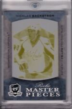 2007-08 The Cup Nicklas Backstrom RC Rookie Masterpieces Printing Plate #d 1/1