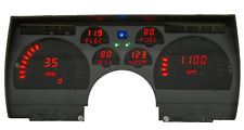 1991-1992 Camaro Digital Dash Panel Red Led Gauges Made In The Usa