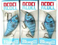 (3) Rebel Lures Crankbaits Albino Bluegill Shallow Crankbait F82538 Brand New