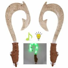 Light-Up Sound Maui Fish Hook Moana Exquisite Toys for Kids Birthday Gifts Decor