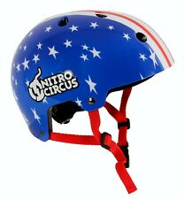 Nitro Circus H11 Stars & Stripes Kids 55 - 58cm Medium Skateboard Bicycle Helmet