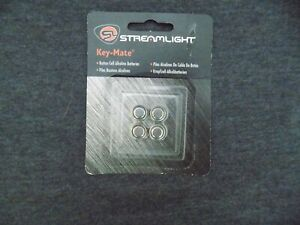 Streamlight 72030 4 Pack Replacement Button Cell Alkaline Batteries for Key-Mate
