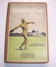 Turnen und Sport an deutschen Hochschulen Appell an Studenten 1910 Fehrmann !