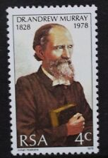 SOUTH AFRICA 1978 Dr Andrew Murray 125th Birth Anniversary. Set of 1. MNH. SG440