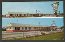 Marshalltown Iowa IA '60s Franklin Motel & Old Cars
