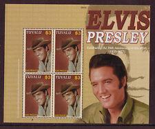 Elvis Presley, Tuvalu, Miniatur Blatt Nicht Gefaßt Postfrisch, MNH