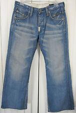 CROCKER ROSSELA JEANS STATION T. M 1919 100% COTTON CLASSIC PANTS SIZE 33 BLUE