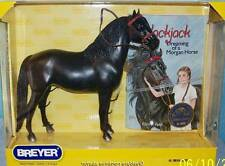 Breyer Model Horses Black Jack Morgan Horse with Book