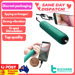 Android app remote Camera Dildo Vibrators Endoscopy G Spot Stimulator Sex toys