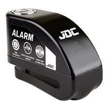 Alarma de bloqueo de disco JDC Motocicleta Moto-Jaws-Negro