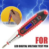 LED VD700 12-250V Digital Electric Voltage Tester Test Pen Detector Flashlight