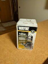 Wayne Thermoplastic Submersible Utility Pump 2500 Gph 12 Hp 1 14in Vip50