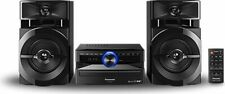 Impianto Stereo Hi Fi Bluetooth Mini Hi Fi WiFi CD/Mp3 300W Panasonic SCUX102E