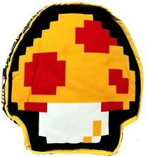 Super Mario 1-Up Mushroom / Super Mushroom Plush Pillow