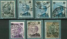 ITALIA - Regno - 1924/25 - Francobolli del 1901-23 sovrastampati