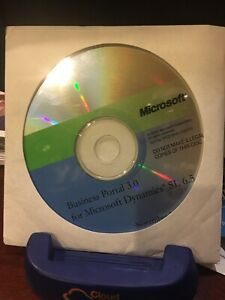 Brand New Business Portal 3.0 for Microsoft Dynamics SL 6.5. CD. NEVER USED