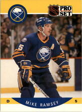 1990-91 PRO SET HOCKEY MIKE RAMSEY CARD #28 BUFFALO SABRES NMT/MT-MINT