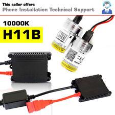 H11B Digital 10000K HID Conversion Kit Ballast Bulb German Technology USA 55W