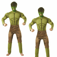 Hulk Mens Fancy Dress Deluxe Avengers Endgame Adult Superhero Comic Book Costume