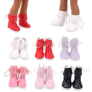 Hot Handmade 14.5'Inch American Girl Doll Accessories Fashion High Boots