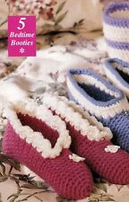 COZY Bedtime Booties/Slippers/Apparel/ Crochet Pattern INSTRUCTIONS ONLY