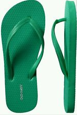 OLD NAVY WOMEN'S FLIP FLOPS, Size 10 Green