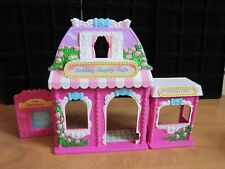 MY LITTLE PONY & PONYVILLE COTTON CANDY CAFE FOLDING STRUCTURE HASBRO 3+ CUTE!