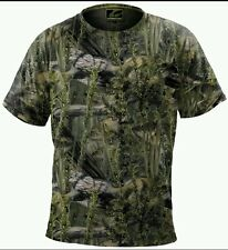 Fishouflage Performance Polyester BASS Fishing Camo Tee T Shirt NWT L Large