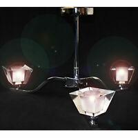 3 Bulb Modern LED Crystal Ceiling Lights Chandelier Lamp Kitchen Bed Living Room