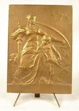 Médaille La République protectrice  The protective Republic 67mm Massoulle Medal