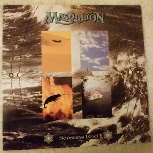 "MARILLION: SEASON'S END; EMI  7 92877 1; GATEFOLD  12"" VINYL LP CUT RECORD; VG+"