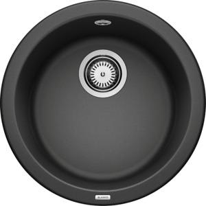 BLANCO RONDO- 511629 Silgranit Anthracite Round Kitchen Sink- Inset
