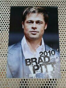 BRAD PITT CALENDAR 2010 USATO SICURO formato 42x30 centimetri
