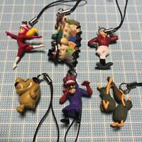 Wacky Races Mini Figures Strap Set Rare vintage cute