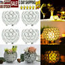 Set Of 4 Crystal Bowl Tea Light Candle Holder for Wedding Party Home Decor