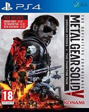 Metal Gear Solid la experiencia definitiva PS4 * NUEVO PRECINTADO PAL *