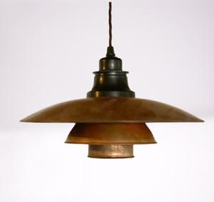 Poul Henningsen PH 3/2 pendant lamp. Louis Poulsen, 1930's