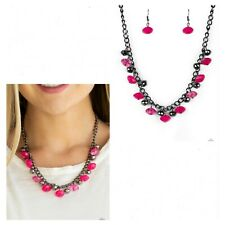 NWT! Paparazzi ~ Runway Rebel ~ Pink Necklace