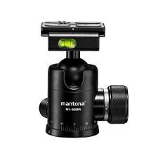 Mantona Onyx 8 Boule (m1-3008a), Arca Swiss Compatible, capacité de charge: 8 kg