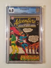 Adventure Comics #345 CGC 6.0 (DC,1966) Death of Blockade Boy & Weight Wizard!