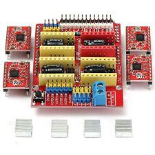 Engraver CNC Shield Board V3.0 + 4pz A4988 Stepper Motor Driver Per Arduino