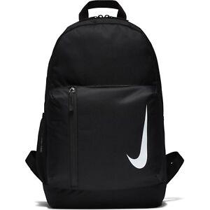 Nike Academy Team Backpack Unisex Black Rucksack Bag Travel School Gym Football